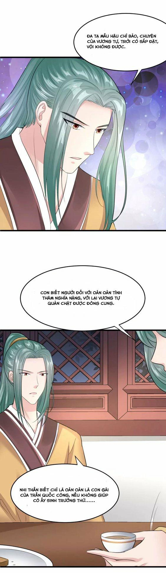 Đế Vương Sợ Vương Phi Muốn Sở Hữu Thiên Hạ chap 20 - Trang 22
